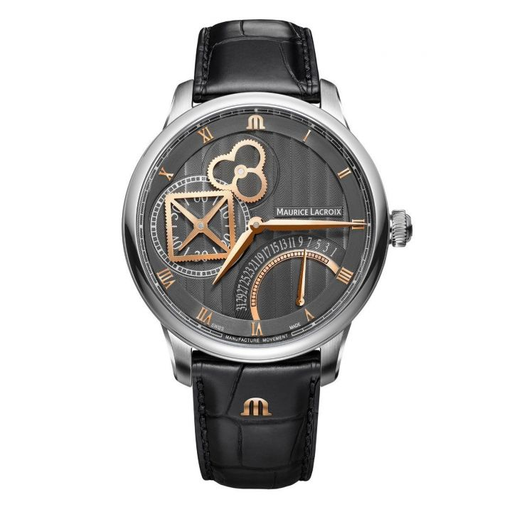 Maurice Lacroix Masterpiece Square Whell Retrograde