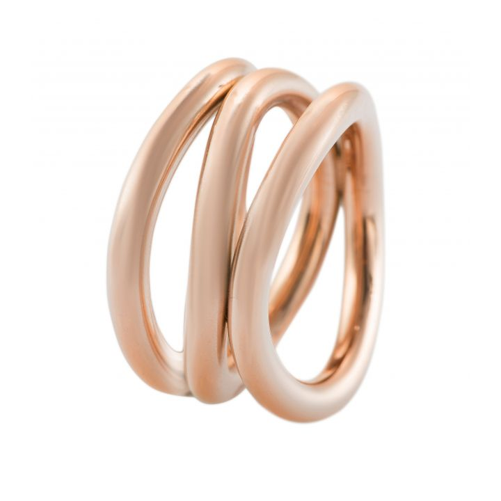 veto D-Ring Stahl rosé gewellt