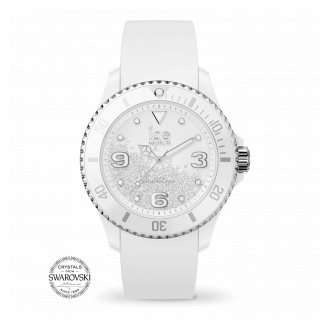 ice watch Ice Crystal U Smooth White Silver