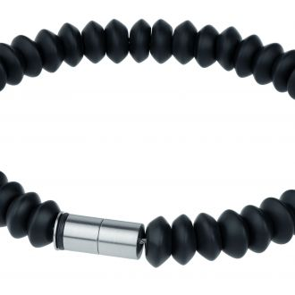 veto Onyx Bracelet Edelstahl