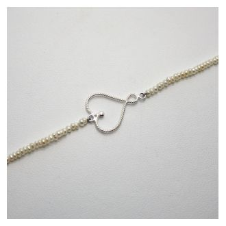 Perlenzauber Perlenbracelet Herz