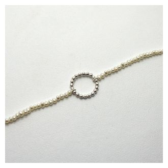 Perlenzauber Perlenbracelet Kreis