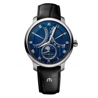 Maurice Lacroix Masterpiece Moonphase Retrograde 43mm