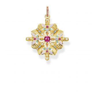 Thomas Sabo Anhänger Amulett Kaleidoskop Schmetterling Gelb