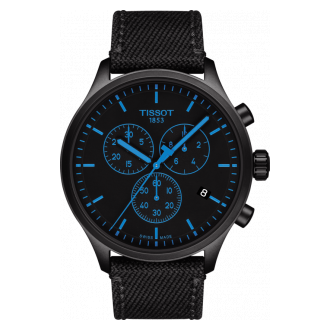 Tissot Chrono XL schwarz/blau