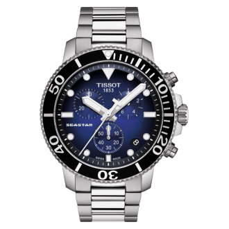 Tissot Seastar Chronograph Blau