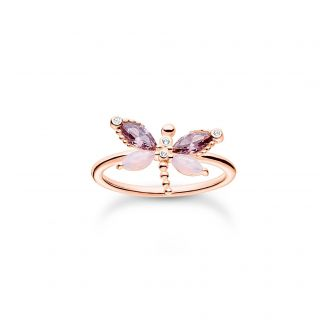 Thomas Sabo Ring Schmetterling