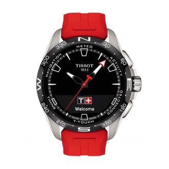Tissot T-Touch Connect Titan Rot