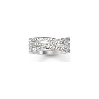 Thomas Sabo D-Ring 925 Silber